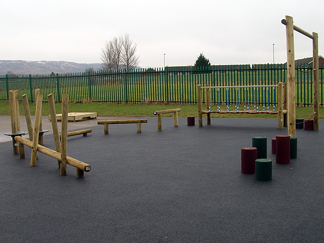 Outdoor playgrounds gallery - Playground surfaces for home ...