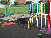 Outdoor Playground Wetpour